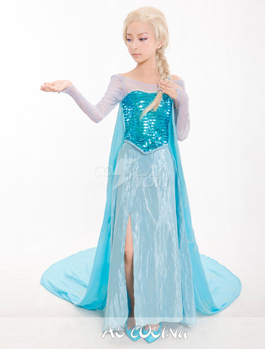 costume of elsa from frozen for kids. Black Bedroom Furniture Sets. Home Design Ideas