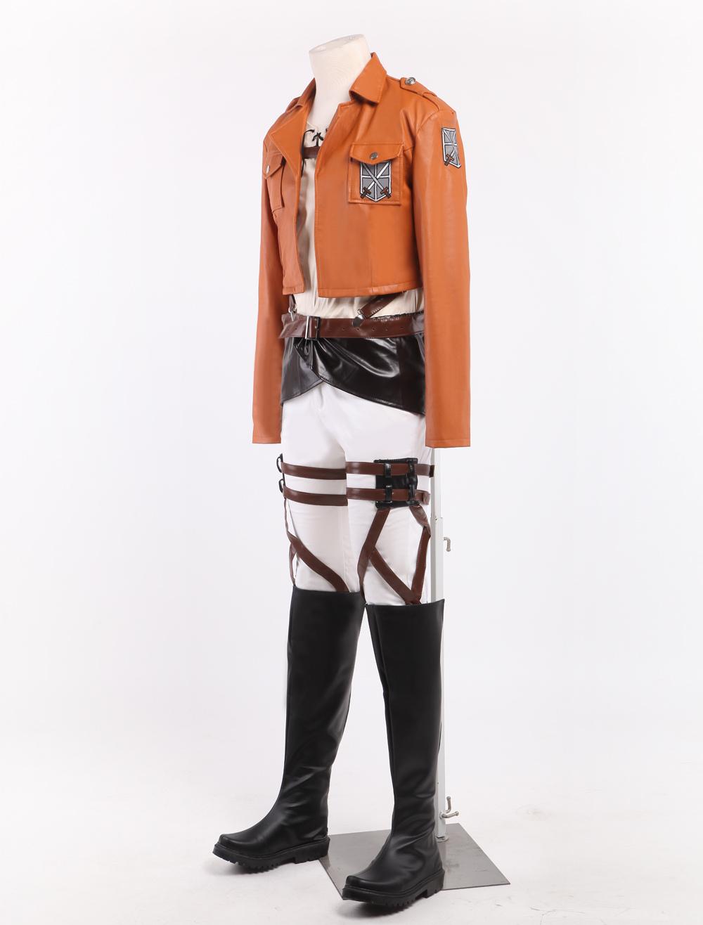 Attack On Titan Eren Jaeger Cosplay Costume Shingeki No ...