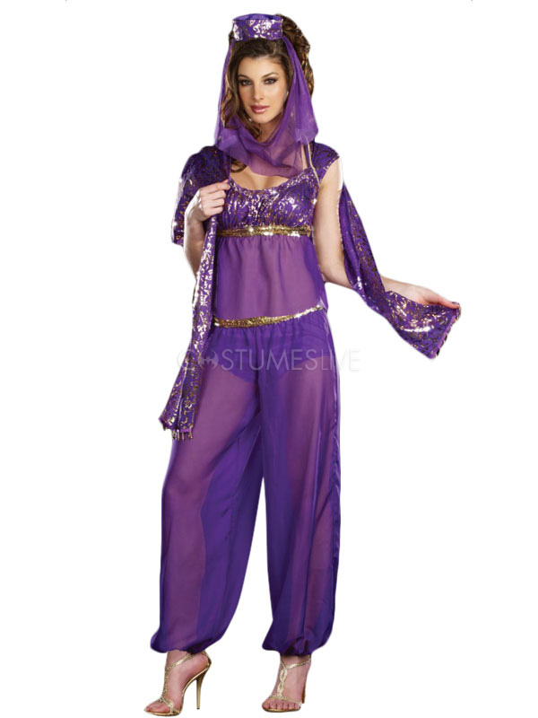 toussaint cosplay costume indien en polyester pour femme. Black Bedroom Furniture Sets. Home Design Ideas