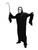 Halloween Black Skeleton Costumes x 1