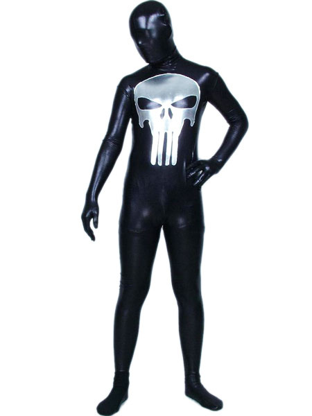 Shiny Metallic Zentai Suit Halloween cosplay costume Halloween