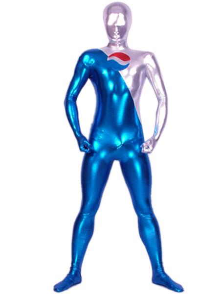 Блестящий металлический Зентаи костюм Хэллоуин косплей костюм
