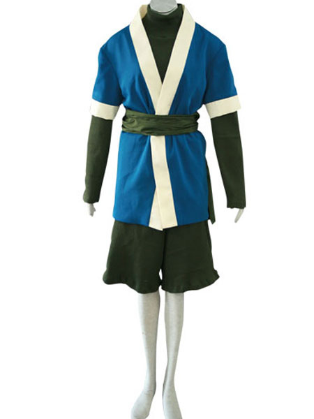 Naruto Haku Halloween Cosplay Costume фото