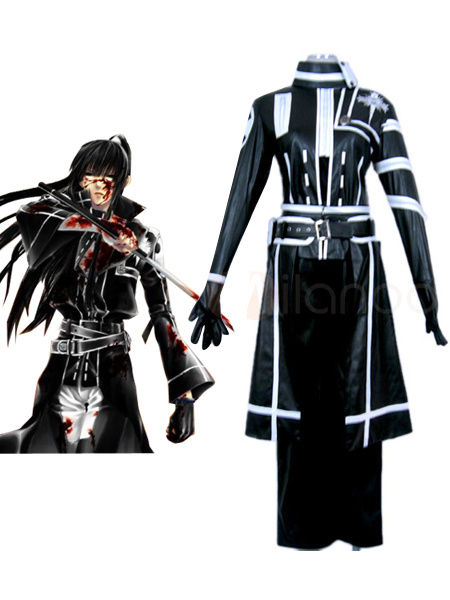 D.Gray Man Kanda Yuu Cosplay Costume Milanoo