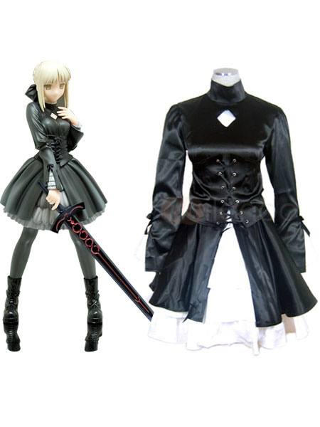 Fate Hollow Ataraxia Halloween Saber Cosplay Costume
