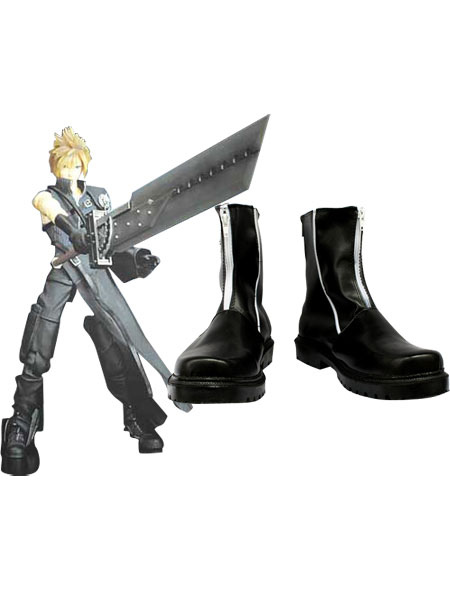Peculiar Final Fantasy VII Cloud Strife Cosplay Boots фото