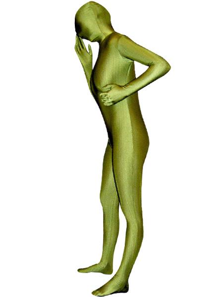Армия Зеленый Хэллоуин Зентаи Костюм Лайкра Спандекс Унисекс Полный Боди Morphsuits