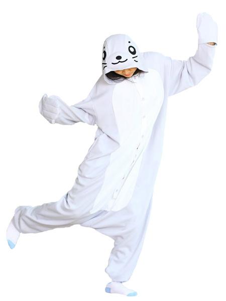 Kigurumi Pajamas Seal Onesie For Adult Cute Animal Costume фото