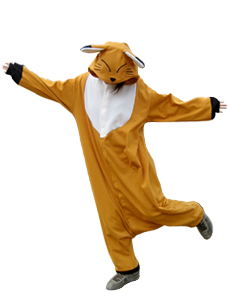 Kigurumi Pajamas Fox Onesie For Adult Animal Costume Halloween