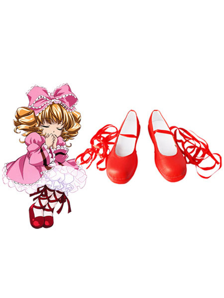 Rozen Maiden Cosplay Imitated Leather Boots фото