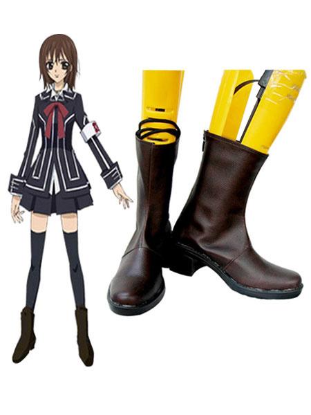 Vampire Knight Kuran Yuki Kurosu Yuki Cosplay Shoes Boots фото