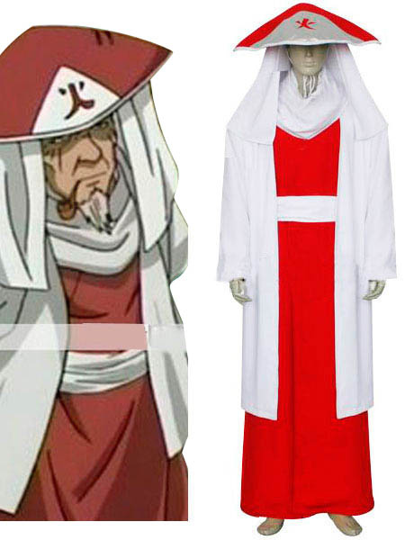 Naruto Sarutobi 3rd Hokage Cosplay Costume