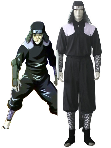 Naruto Hiruzen Sarutobi Uniform Cloth Cosplay Costume фото