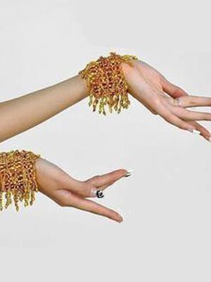 Bracelets Belly Dance Costume Gold Bollywood Dance Jewelery