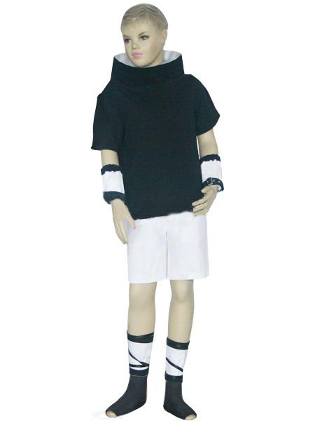 Uniform Cloth Spandex Naruto Sasuke Uchiha Kids Cosplay Costume