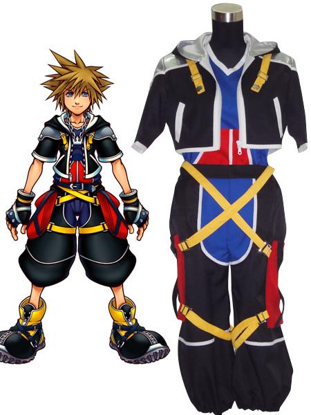 Kingdom Hearts Sora Cosplay Costume фото