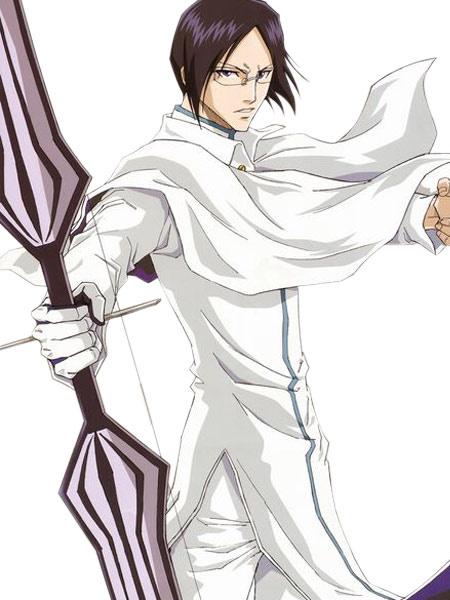 Bleach Ishida Uryuu Halloween Cosplay Costume White Suit фото
