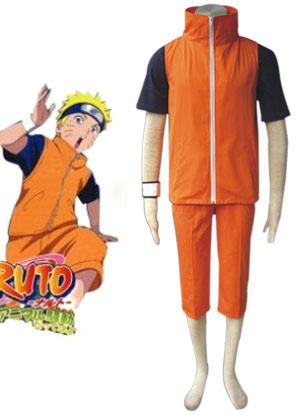 Costume d'adultes d'Uzumaki Naruto dans Naruto Shippuden-Costume cosplay de Halloween