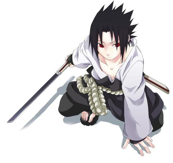 Naruto Uchiha Sasuke Anime Cosplay Costume Milanoo