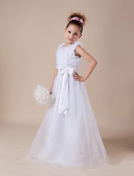 Vêtements et Accessoires de mariage Robes de mariage Robes pour les petites demoiselles d'honneur 95014