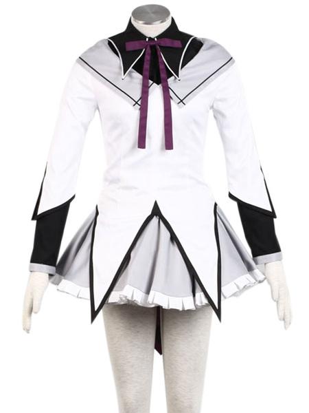 Puella Magi Madoka Magica Akemi Homura Cosplay Costume фото