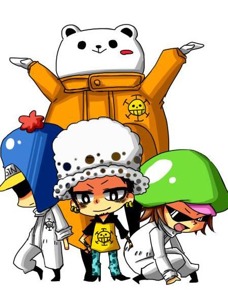 One Piece Film Strong World Trafalgar Law Halloween Cosplay Costume фото