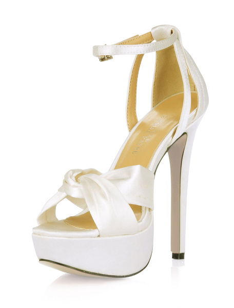 Knotted Ankle Strap High Heel Sandals фото
