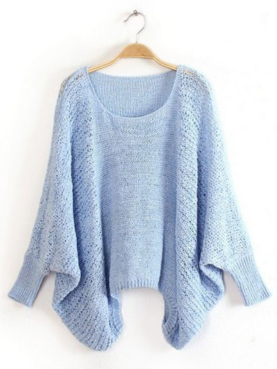 Cotton Blend Knit Sweet Women's Pullover фото