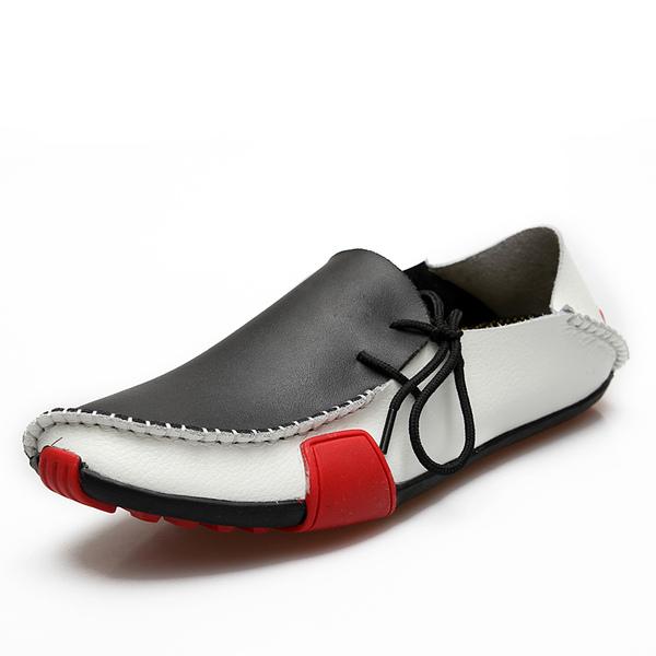 Мужская кожа мокасины Повседневная обувь