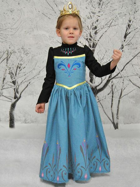 Blue Disney Frozen Dress фото