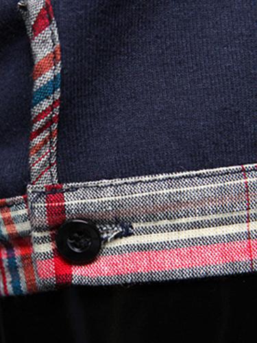 Milanoo / Taschen Baumwolle Kurzarm Polo-Shirt