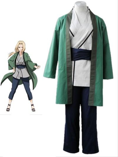 Naruto Tsunate 1th Cotton Cosplay Costume фото