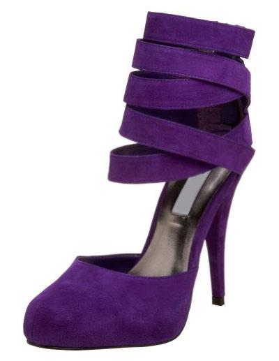 Almond Toe Stiletto Heel Leather High Heels фото