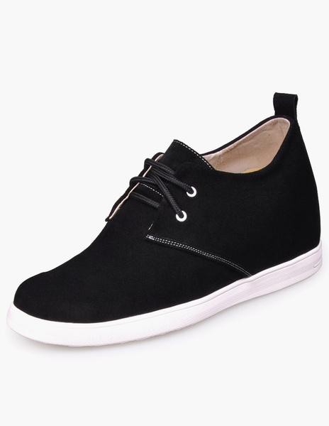 Выше обувь черный галстук резиновые замшевые мужские