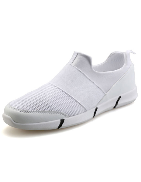 Round Mesh Loafers Casual Shoes фото