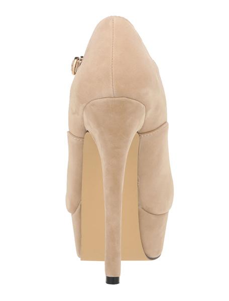 Milanoo / Zapatos de plataforma de felpa color liso simples