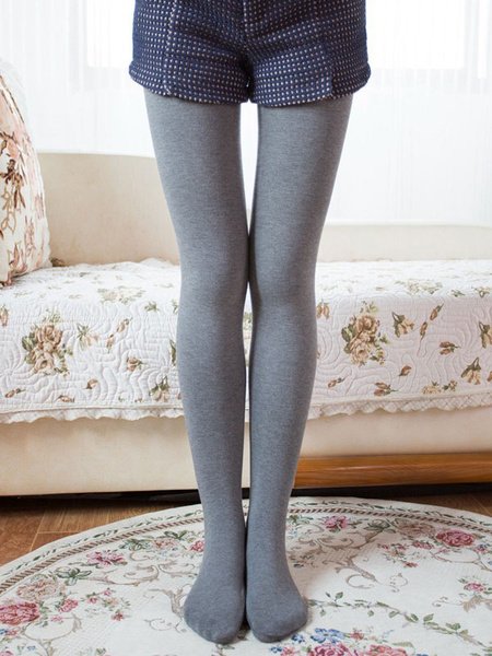 Black Winter Leggings Elastic High Waist Slim Fit Cotton Skinny Leggings фото