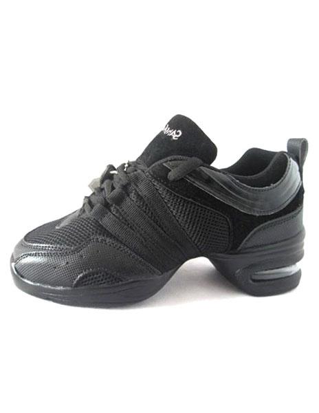Trendy Black PU Mesh 1 9/10'' Heel Womens Jazz Shoes