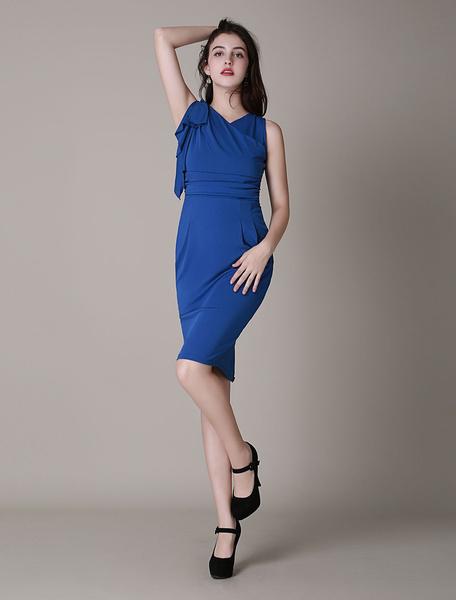 Asymmetrical Midi Dress With Ruffled Short Sleeve