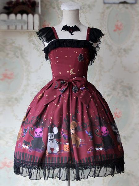 Sweet Bows Chiffon Lolita Dress фото