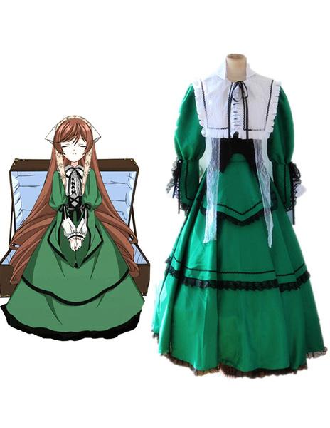 Rozen Maiden Suiseiseki Jade Stern Halloween Cosplay Costume