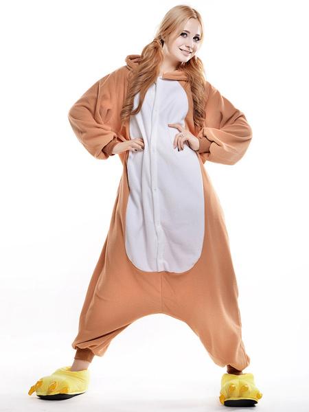 Kigurumi Pajama Rilakkuma Onesie For Adult fleece Flannel Costume фото