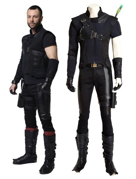 Captain American Hawkeye Clinton Barton Halloween Cosplay Costume Marvel's Comic Cosplay Costume фото