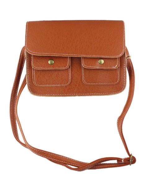 Brown Shoulder Bag Women's Adjustable Cross Body Bags