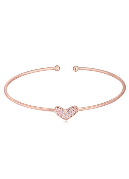 Armband für Damen für Damen Armreif Herz im schicken & modischen Style und Ball und Damen