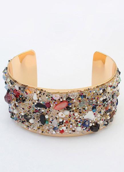 Legierung Armband für Damen und Damen Armreif im schicken & modischen Style und Party und Damen