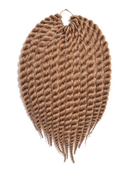 Crochet-Extensions de cheveux afro-américains tresse cheveux corde Twist brun Havana Mambo