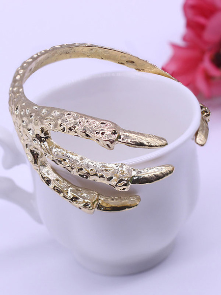 Women's Vintage Bracelet Eagle Claw Punk Style Cuff Bangle Bracelet фото