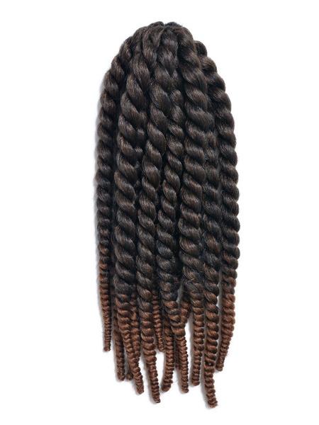 Crochet Braid Hair Rope Twist Havana Mambo Deep Brown Hair Extensions