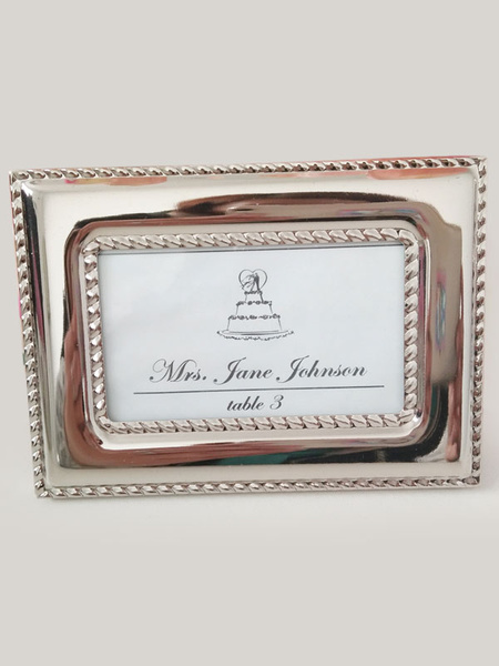 Wedding Photo Frame Silver Plated Album Favors